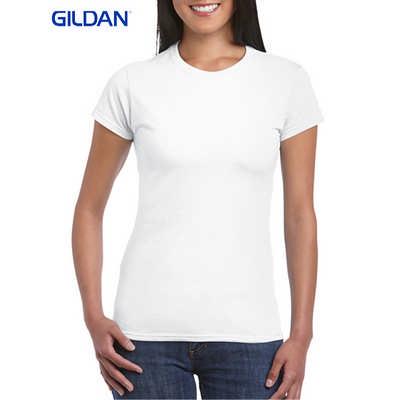 Gildan Softstyle Ladies T-Shirt White